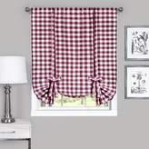 "Achim Home Furnishings Buffalo Check Window Curtain Tie Up Shade, 42"" X 63"""