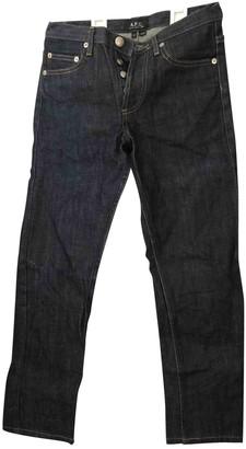 A.P.C. Capri Blue Denim - Jeans Jeans