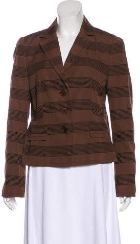 Akris Punto Structured Embroidered Jacket
