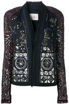 A.F.Vandevorst '161 Bohemiane' studded blazer
