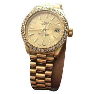 Rolex Lady DateJust 28mm Gold Yellow gold Watches