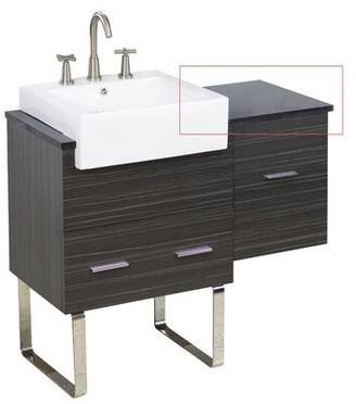 "American Imaginations Xena 14"" Single Bathroom Vanity Top"