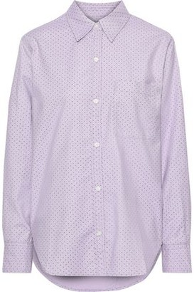 Current/Elliott The Neal Stretch Cotton-poplin Shirt