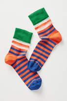 Hysteria Verna Striped Crew Socks