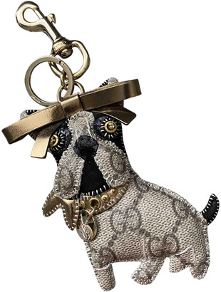 Gucci Grey Yellow gold Bag charms