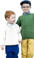 Carraigdonn Carraig Donn Childs Irish Merino Wool Crew Cut Sweater (XSmall, )