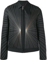 Rick Owens embroidered bomber jacket - men - Cotton/Acrylic/Cupro/Wool - 46