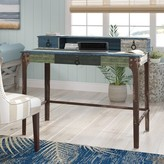 Beachcrest Home Varela Writing Desk with Hutch