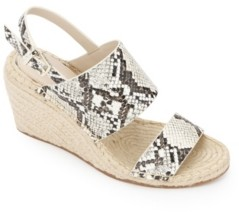 Kenneth Cole New York Olivia Low Wedge Sandals Women's Shoes