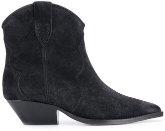 Isabel Marant Textured Pointed Toe Boots