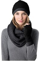 Celeste Women's Wool Cashmere Blend 3 Piece Set, Hat, Infinity Scarf & Glove