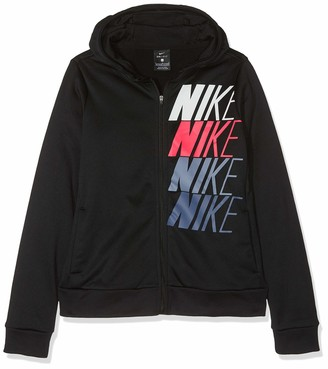 Nike Girls' G NK Therma Hoodie FZ GX Jacket