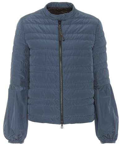 Brunello Cucinelli Quilted taffeta down jacket