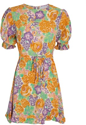 Faithfull The Brand Florence Floral Mini Dress