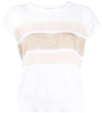 Peserico striped T-shirt