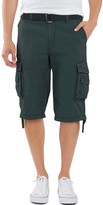 UNIONBAY Men's Cordova Messenger Belted Cargo Shorts