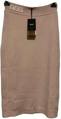 Fendi Pink Skirt for Women
