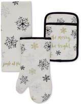 Kate Spade 3-Pc. Snowflake Kitchen Set