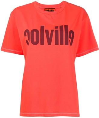 Colville logo print cotton T-shirt