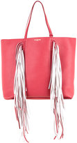 Sara Battaglia Everyday Fringed shopper bag - women - Calf Leather - One Size