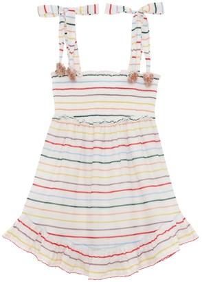 Zimmermann Zinnia Shirred Short Dress