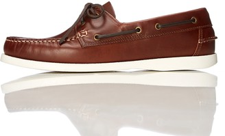 Find. Amazon Brand Men's Boat Shoes Brown (Cognac) US 11.5