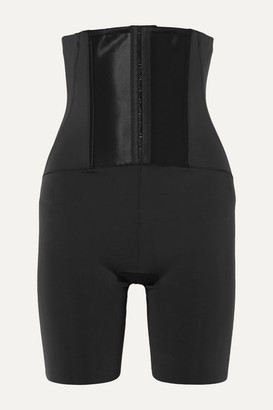 Spanx Under Sculpture High-rise Control Shorts - Black