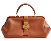 Burberry Trench textured-leather bowling bag