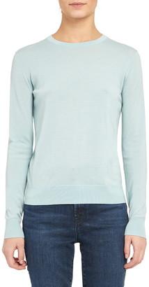 Theory Regal Wool Blend Crewneck Sweater