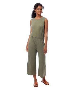 Alternative Women's Harper Sleeveless Cropped Jumpsuit