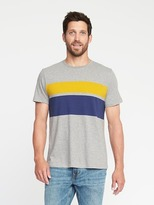 Old Navy Striped Crew-Neck Tee for Men