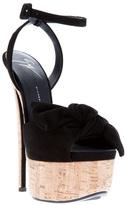 Giuseppe Zanotti Design bow platform stiletto sandal