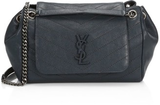 Saint Laurent Medium Nolita Leather Shoulder Bag
