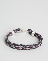 Jack Wills Alasdair Plaited Multistrand Bracelet