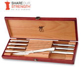 Zwilling J.A. Henckels 8-pc. Stainless Steel Stainless Steak Knife Set with Wood Case