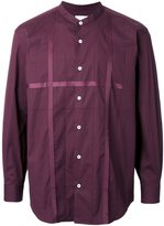 EN ROUTE band collar shirt