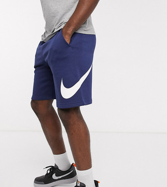 Nike Club Tall shorts in navy