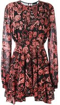 Just Cavalli multi-print flared dress