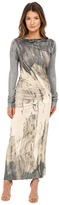 Vivienne Westwood Long Sleeve Maxi Taxa Dress Women's Dress