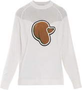 3.1 Phillip Lim Cashmere Poodle Mesh Sweater