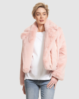 Soon Agi Faux Fur Jacket