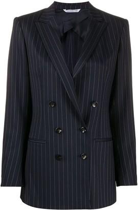 Tonello Pinstriped Double-Breasted Blazer