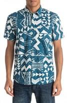 Quiksilver Men's East Cape Print Woven Shirt