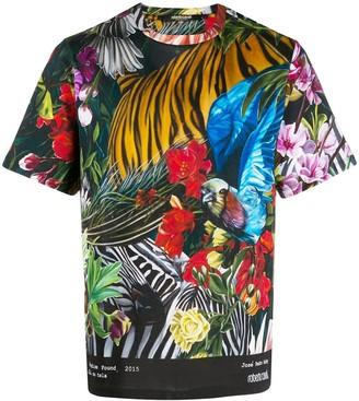 Roberto Cavalli Paradise Found printed T-shirt