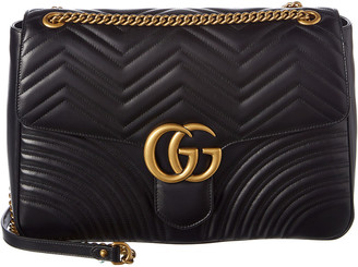 Gucci Gg Marmont Large Matelasse Leather Shoulder Bag