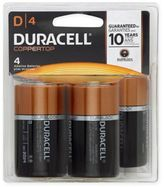 Duracell D Battery (4-Pack)
