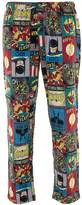 Briefly Stated DC Comics Men's Golden Age of Super Heroes Pajama Pants L