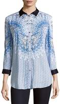 Basler Women's Printed Button-Down Shirt