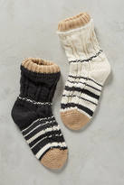 Tintoretta Cabled Stripe Socks