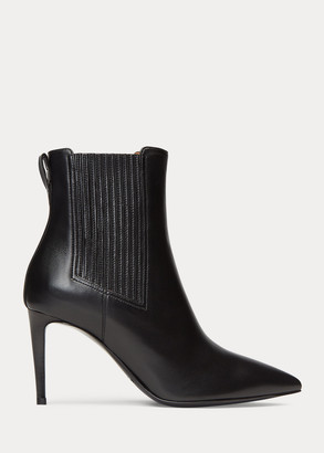 Ralph Lauren Tamsyn Nappa Leather Boot